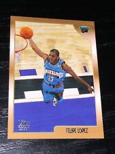 1998-99 Topps FELIPE LOPEZ RC card #161 ~ Vancouver Grizzlies Rookie ~ F1