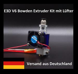 E3D V6 Hotend Kit mit Lüfter -schneller Versand aus Deutschland- Bowden-Extruder