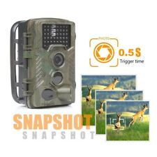 Cámara de Caza 16MP 1080P Cámara de PIR Infrarrojo Sensor Movimiento Impermeable