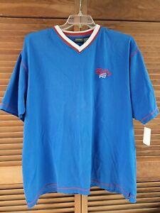 Vintage 1990s NFL Buffalo Bills V-Neck T-shirt XL