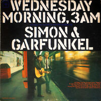 Simon & Garfunkel - Wednesday Morning, 3 A.M (VG/VG) [07-1450] vinyl LP MONO