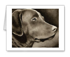 Chesapeake Bay Retriever note cards by watercolor artist Dj Rogers