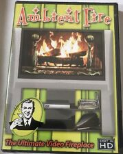 Ambient Fire: Ultimate Video Fireplace Dvd (shot In Hd)