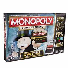 Monopoly Ultimate bancaire FAMILY Board Game Brand New Hot Vendeur Gratuit P & p *