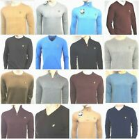 JUMPERS V-NECK CREW NECK ZIP NECK LIGHT WEIGHT WOOLEN SWEATER LYLE & SCOTT