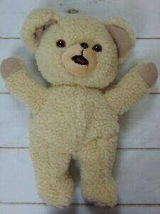 """Vintage 1993 Lever Brothers SNUGGLE Plush Bear Hand Puppet 14"""" Tall VTG"""