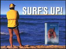 Australia 2007 Surf's Up Prestige Booklet #C42963