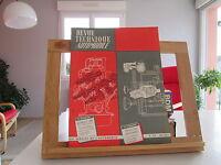 REVUE TECHNIQUE AUTOMOBILE N°206 JUIN 1963 TBE RENAULT 580