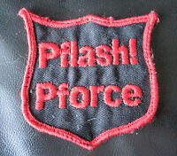 PFLASH PFORCE EMBROIDERED SEW ON ONLY PATCH