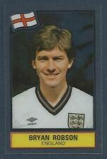 PANINI FOOTBALL SUPERSTARS 1984 -ENGLAND & MANCHESTER UNITED-BRYAN ROBSON