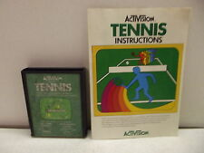 Atari 2600 Game Cartridge Tennis W/Manual