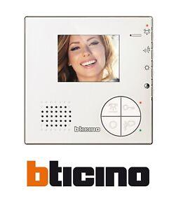 BTICINO VIDEOCITOFONO 2 FILI VIVAVOCE A COLORI CLASSE 100 V12B 344502 NUOVO