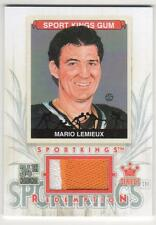 MARIO LEMIEUX 2013 SPORTSKINGS NATIONAL CONVENTION 2 COLORED JERSEY 19 MADE MINT