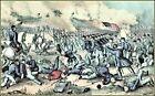 Currier & Ives : The Battle of Fredericksburg  Art Print