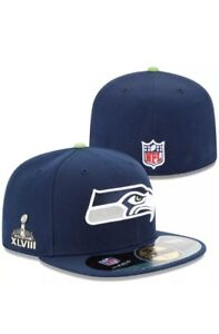 Seattle Seahawks Limited Edition SUPERBOWL XLVIII 48 Fitted Cap New Era 59fifty