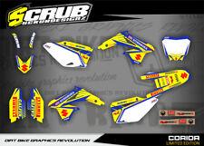 Suzuki RMz 250 Dekor 2010 - 2018 Aufkleber Set '10 - '18 SCRUB Grafik