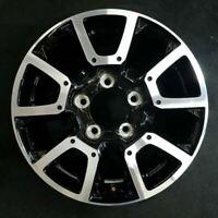 "18"" MACHINED BLACK TOYOTA TUNDRA 2014-2020 OEM Factory Alloy Wheel Rim 75157B"