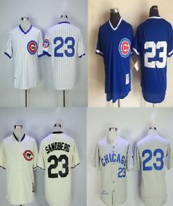 1984 Ryan Sandberg Chicago Cubs Mens jersey stitched