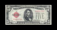 1928-A UNITED STATES NOTE FIVE DOLLARS $5 **RARE** (( aUNC ))