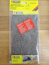 NOCH H0 58250 Bruchsteinmauer graubraun für Modellbahn Anlage etc