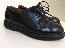 DK18 Rockport Mens Black Smart Solid Chucky Leather Shoes Size UK 6