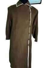 Authentic YSL YVES SAINT LAURENT Plain Long Jacket Classic Trench Coat Jacket