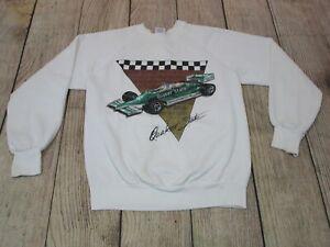 VTG Quaker State Porsche Indy Car Racing White Crewneck Sweatshirt Medium