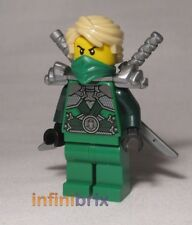 Lego Lloyd Garmadon + Armour from set 70728 Battle for Ninjago City Ninja njo104