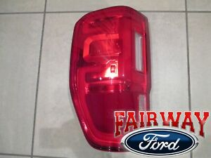 19 thru 21 Ranger OEM Ford Left Driver Tail Lamp Light with LED and BLIS