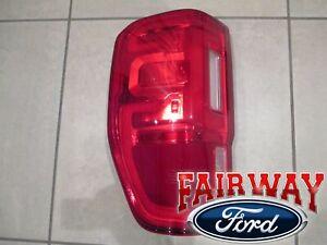 19 thru 20 Ranger OEM Ford Left Driver Tail Lamp Light with LED and BLIS