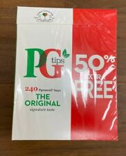 PG Tips bolsitas de té 240 Bolsas Originales Pirámide