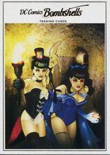 DC Comics Bombshells Copper Deco Base Card H12 Volume 1 Issue #16
