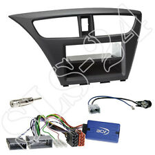 Honda Civic fk2/fk3 ab02/2014 2-din doble diafragma + especializada + China volante adaptador set