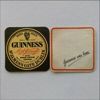 Guinness Extra Stout St James's Gate Dublin 2 x Coaster (B354)