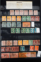 Lebanon Loaded Early Stamp Collection