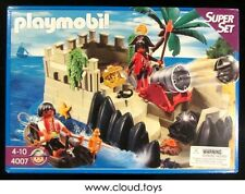 Vintage Playmobil 4007 Pirates Cove Super Set with Island NEW MISB