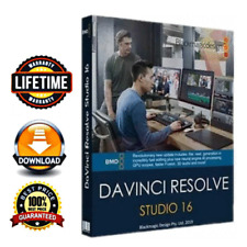 ✅ DaVinci Resolve Studio 16.2.1🔑Lifetime Key🔑for Windows🔐Fast Delivery 🔥🔥