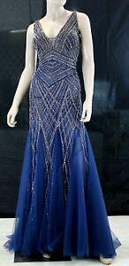 Abito da Cerimonia Donna Pronovias Atos Evening Cocktail Dress taglia 46e50 it