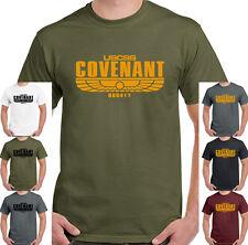Covenant Mens T-Shirt Alien Film Movie  USCSS Weyland Nostromo Prometheus