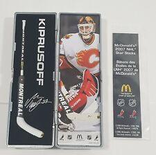 2006 - 2007 NHL McDonald's Kiprusoff Goalie Star Hockey Stick Miniture