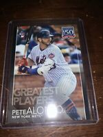 2019 Topps Update PETE ALONSO 150 Years  BLACK 185/299 Mets RC Rookie 🔥