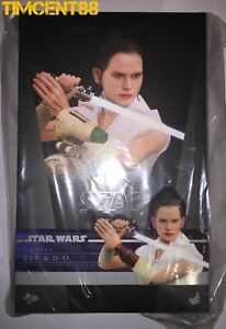 Ready! Hot Toys MMS559 STAR WARS THE RISE OF SKYWALKER 1/6 REY AND D-O Set New