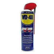 WD40 450ml Aerosol Cleans Spray Lubrication Care Lubricant Car UK 450ML