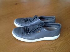 ECCO Men's Low Shoe Grey Size Uk 11 Eur 45
