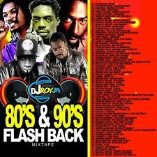 80'S & 90'S FLASHBACK REGGAE MIX CD