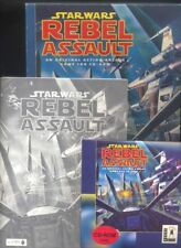 Star Wars Rebel Assault Game CD - Rom , Vincent Lee - con scatola R
