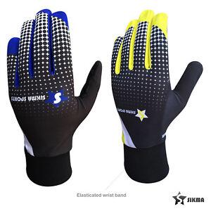Mens Women Cycling Gloves Full Finger Windproof Non Slippery Biking Gloves