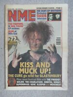 NEW MUSICAL EXPRESS 24 JUNE 1995 THE CURE OASIS GLASTONBURY