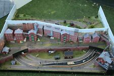 More details for  oo gauge  top quality built 2 side diorama layout  52 x 39 x 13.. garage find.