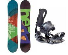 HEAD Rowdy JR 90 Kinder Snowboard Set & SP Fastec Bindung Board Kid Grom Junior